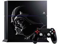 Star Wars PS4 with Battlefront Game