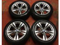 19'' GENUINE BMW X5 F15 467 M ALLOYS WHEELS TYRES ALLOY E70 E7 X6 5 DOUBLE SPOKE