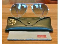Genuine limited edition Ray-Ban's designed by Luxottica