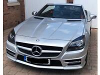 Mercedes SLK AMG Convertible 2012 in Silver