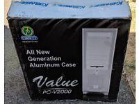 Lian-Li PC-V2000 PC case with Koolance cooling kit