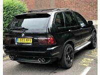 BMW X5 3.0 SPORT ONLY 82k MILES 3 OWNERS FSH FULLY LOADED