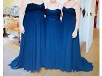 3 beautiful blue dresses by Alfred Angelo