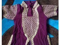 Indian/Pakistani Lengha size 8-10 or 32-34 size for young girls