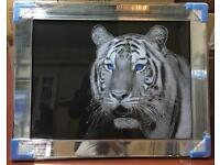 New liquid art mirror framed pictures large £90