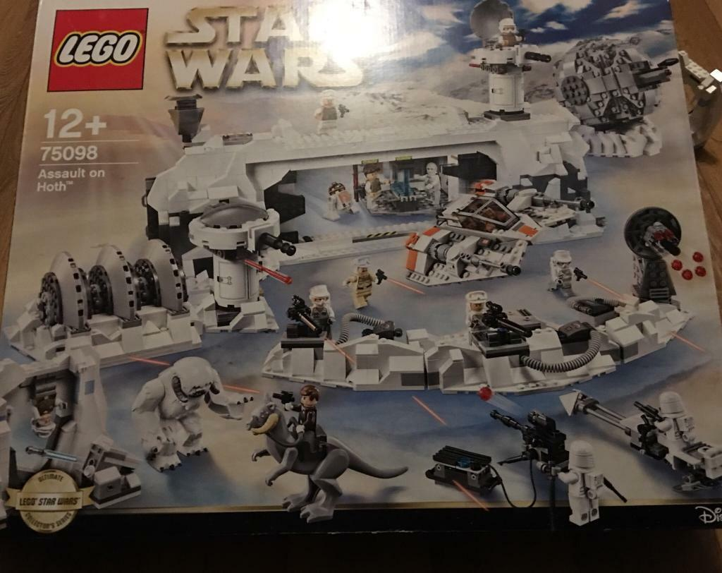 Lego Star Wars Ucs Assault On Hoth Attack Additional 75098 Minifigures