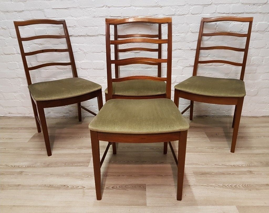 mid century dining chair. Four Mid- Century Dining Chairs (DELIVERY AVAILABLE) Mid Chair