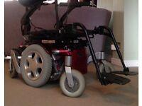 Sunrise Quickie Salsa M Powered Wheelchair
