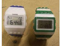 2x lego watches