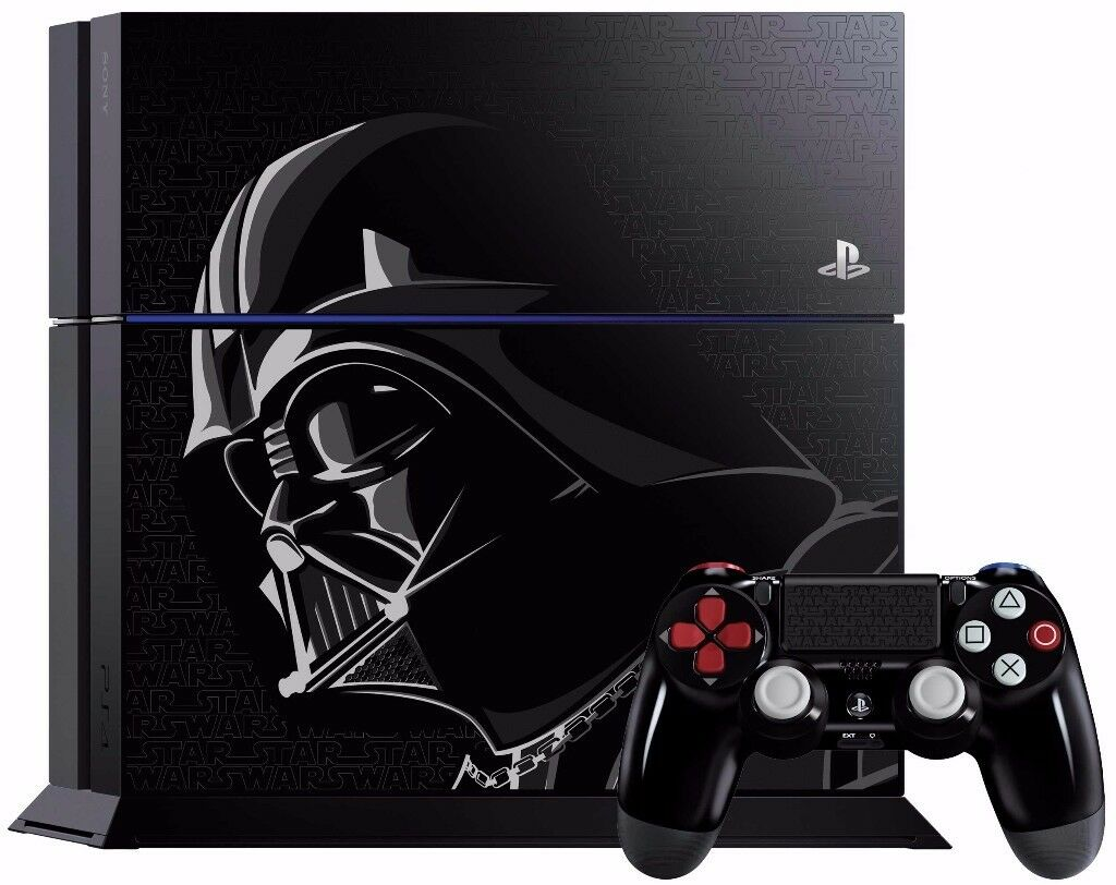 1TB PlayStation4- LIMITED EDITION STAR WARS
