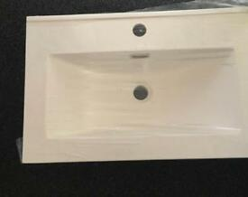 Brand new seramic bathroom sink