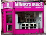 INSTANT CASH FOR YOUR APPLE MACS TODAY APPLE RESELLER MINKO MACS LOCATIONS LEWISHAM CAMDEN TOTTENHAM