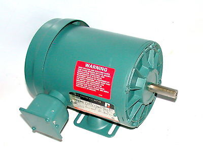 New Reliance 34 Hp 3 Phase Ac Motor Model P56h1304n