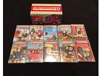 Rare Fireman Sam - Jupiter Collection (10 DVD Box Set) & 4 Postman Pat DVDs
