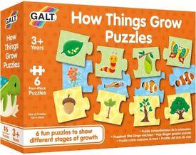 Galt How Things Grow Puzzle Age 3+ BNIB