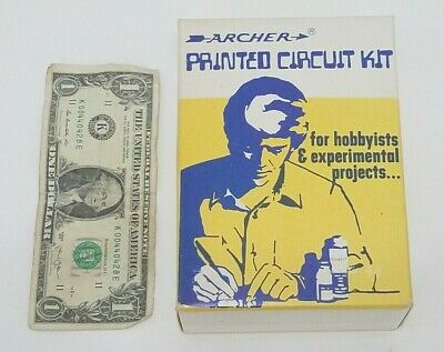 Archer Printed Circuit Board Etching Kit - Partial Kit Computer Pbc Copper Plate