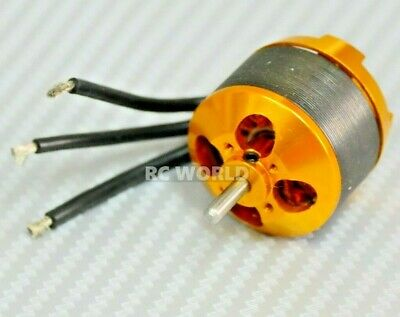 BRUSHLESS OutRunner MOTOR w/ Prop Adapter 28mm Diameter For RC Aircraft