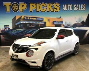 2015 Nissan Juke NISMO RS, One Owner, Accident Free & Certified!