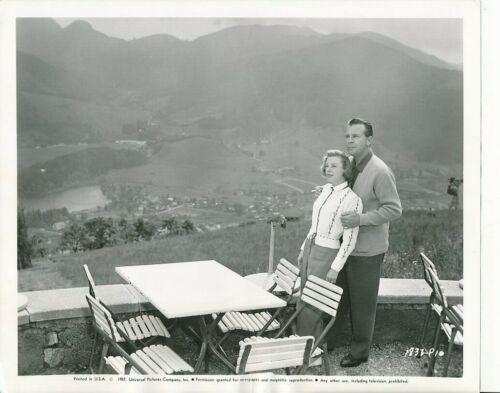 JUNE ALLYSON DICK POWELL Original CANDID Bavaria Germany Vintage 1957 Photo