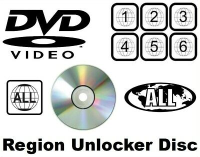 LG region free DVD code remover multi region unlocker disc hack Blu-ray...