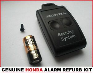 HONDA S2000 CIVIC TYPE R  REMOTE ALARM KEY FOB + FREE BATTERY REFURB KIT OEM EP3