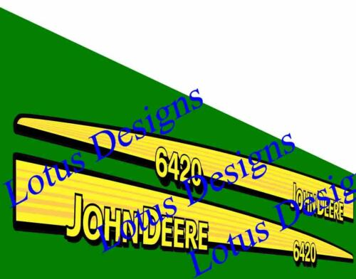 John Deere 6020 series stickers / decals