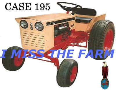 Case 195 Tractor Mouse Pad
