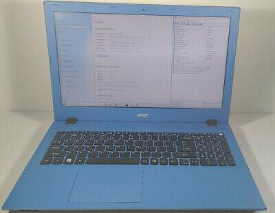 "ACER ASPIRE E-15 E5-532-P3D4 Pentium N3710 1.60GHz 15.6"" 4GB RAM 1TB HDD Win 10"