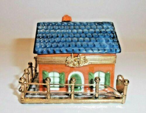 Peint Main Limoges Trinket - French Home