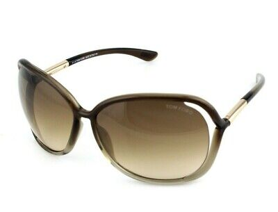 RARE NEW TOM FORD RAQUEL Brown Bronze Sunglasses TF 076 FT 0076 38F TF 76