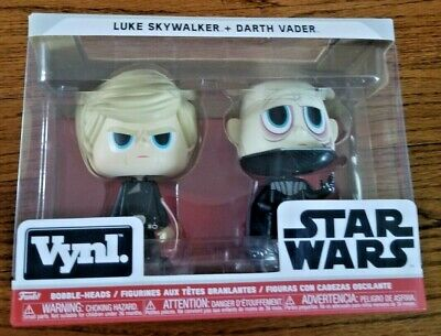Skywalker Vinyl - FUNKO VYNL: Star Wars - Darth Vader & Luke Skywalker Vinyl Figure