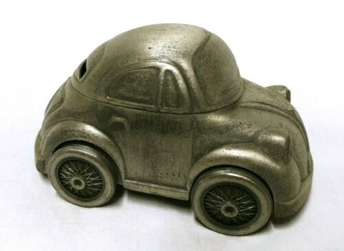 "Volkswagen VW Beetle Bug Metal Car Bank Toy - 5 1/2"" Long"