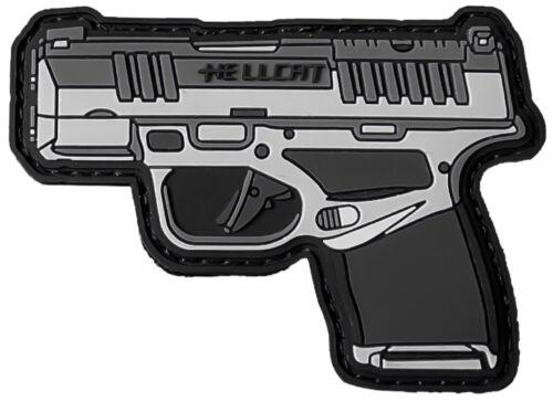 Springfield Armory Hellcat PVC Patch w/Hook-Back Adhesion 3x2
