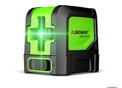 Sndway Self-leveling Laser Level Cross Line Automatic 98 ft. Bosch Range