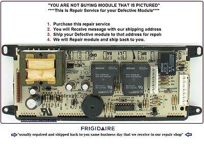 318010900 Repair Service Frigidaire Oven Control Board