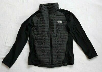 Mens The North Face TNF Verto micro Jacket Size Large Black Coat NWOT