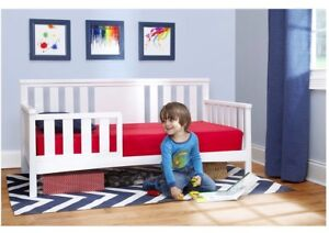 Toddler Bed with Guard rail