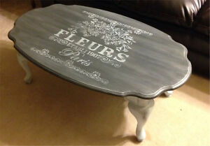 Refinished coffee table for sale