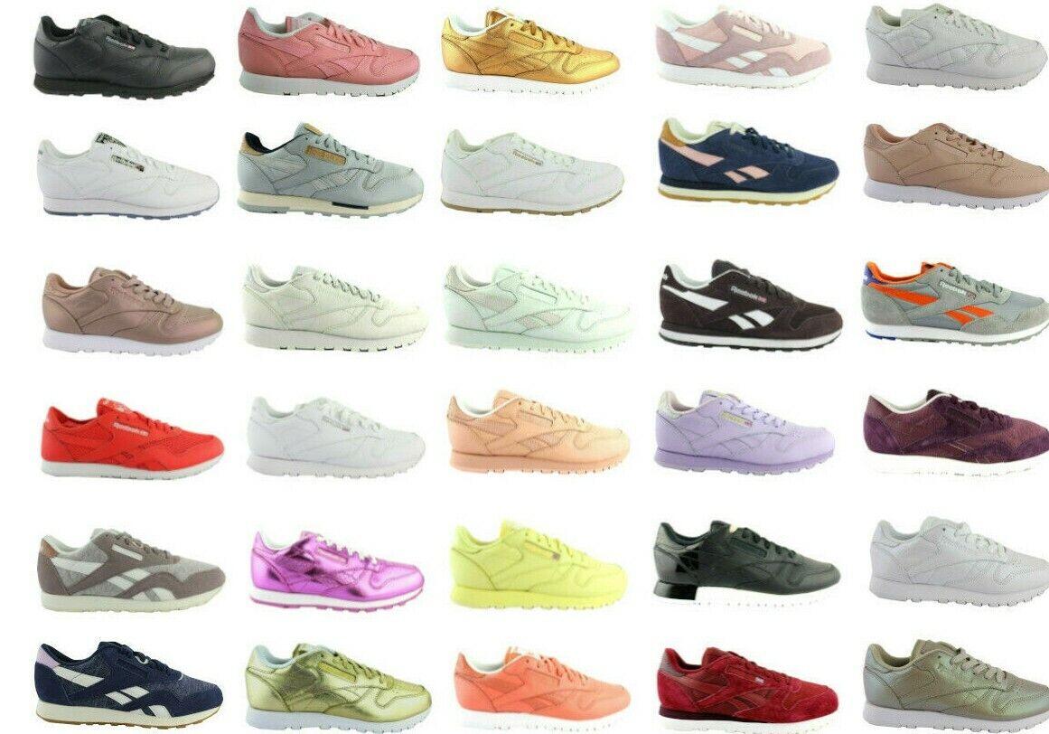 Reebok Classic Leder Leather x face spirit  Herren Damen Schuhe Shoes Sneakers