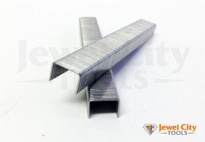 """22 Gauge Stainless Steel Upholstery Staples 3/8"""" crown 1/2"""" Length 10M C series"""