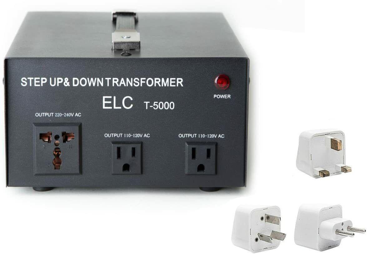 new 5000 watt power voltage converter transformer