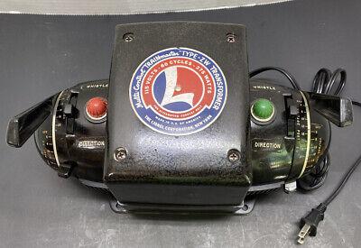 Lionel ZW 275  Watt 4 Train Transformer w/Whistle FREE SHIPPING