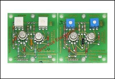 2 Pcs Tektronix 670-8000-00 Crt Dynamic Center Board 2465 2465b 2465a 2467b