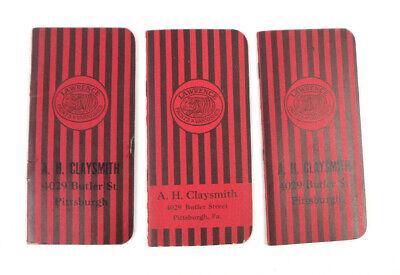 Lawrence Paints & Varnishes Tiger Brand Memo Pad 1934-37 VTG Advertising