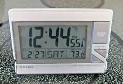 SEIKO Alarm Clock GLOBAL RADIO WAVE CONTROL QHR016 - Works fine!