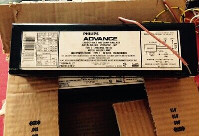 Philips Advance Metal Halide Ballast 70W M98/M143 120V 347V 72C52C2NP ~ New 70w Metal Halide Ballast