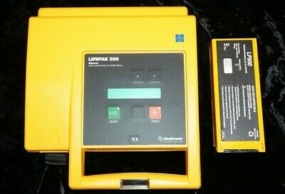 Medtronic Lifepak 500 With Carry Case And Battery Biomed Tested