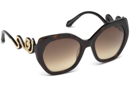 Roberto Cavalli Chianciano RC1047 52G Tortoise Plastic Sunglasses 57-20-135 New