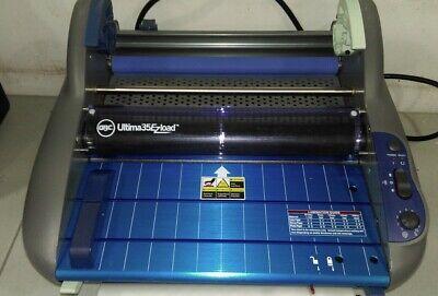 Gbc Thermal Roll Laminator Ultima 35 Ezload 12 Max. Width 1 Min Warm-up