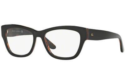 Ralph Lauren RL6156 5260 Black & Havana Brille Frames Glasses Eyeglasses Size 54